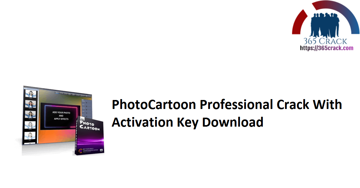 PhotoCartoon Professional Crack With Activation Key Download