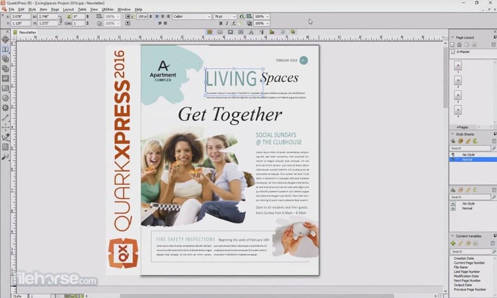 QuarkXPress Crack With Activation Key Download