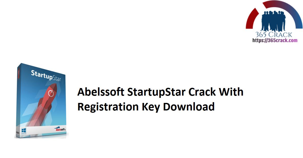 Abelssoft StartupStar Crack With Registration Key Download