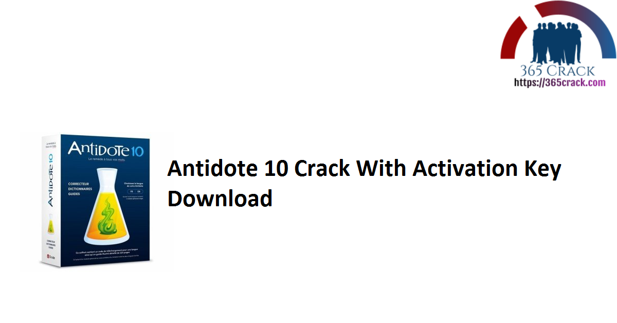 Antidote 10 Crack With Activation Key Download