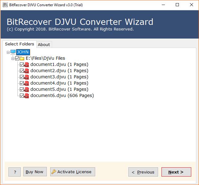 BitRecover DjVu Converter Wizad Crack With Registration Key Download
