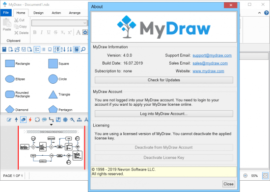 MyDraw 5.0.1 Crack With Registration Key Download 2021