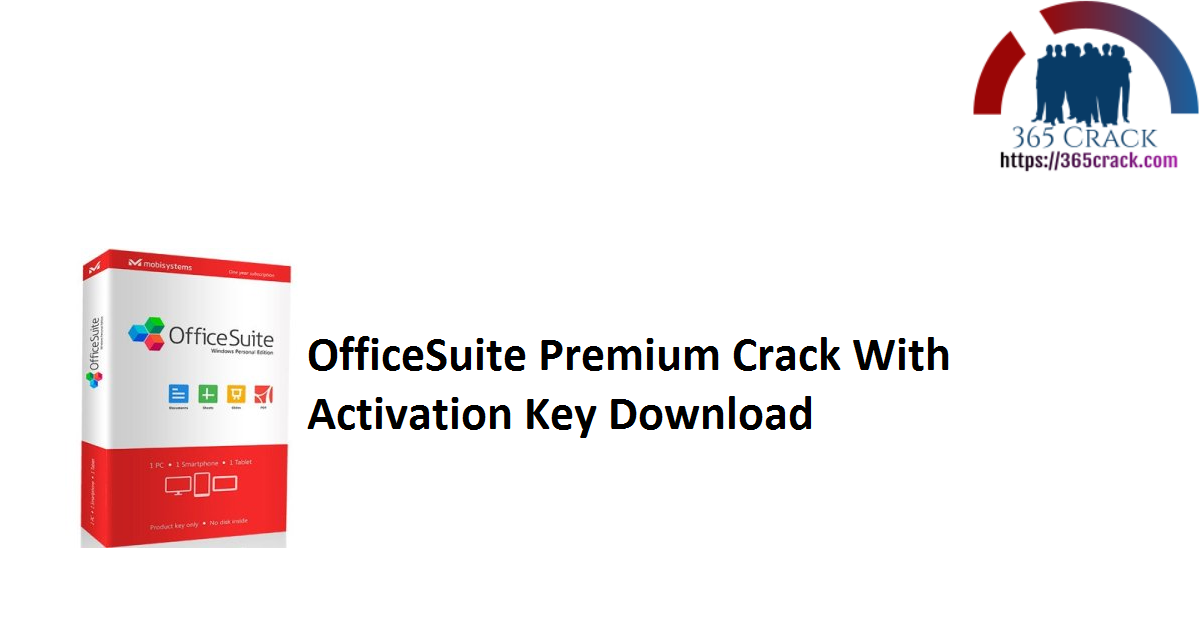 OfficeSuite Premium Crack With Activation Key Download