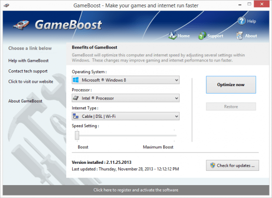 PGWare GameBoost Crack With Serial Key Download