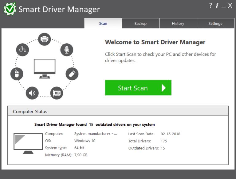Smart Driver Manager Crack With Registration Key Download