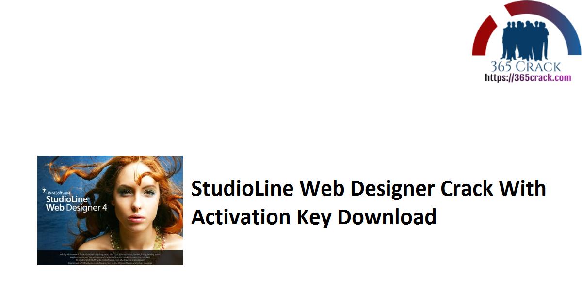 StudioLine Web Designer Crack With Activation Key Download