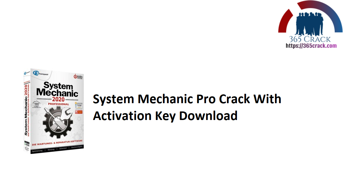 System Mechanic Pro Crack With Activation Key Download