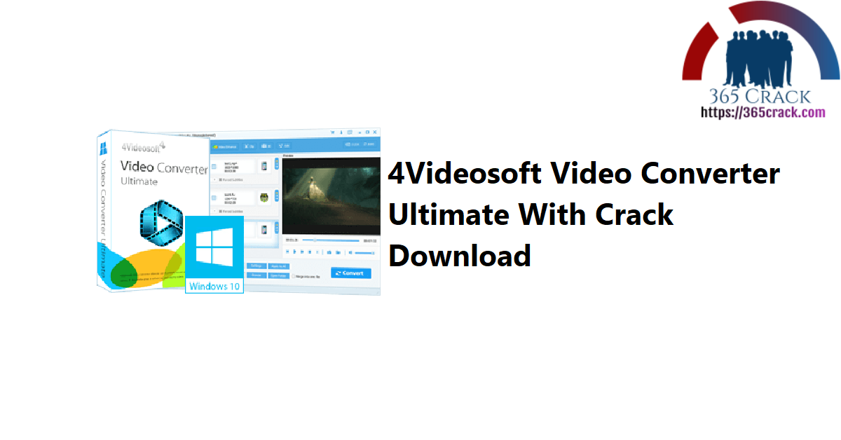 4Videosoft Video Converter Ultimate With Crack Download