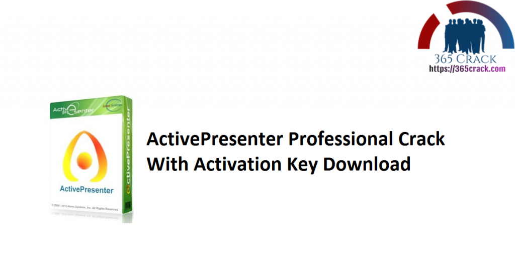 ActivePresenter Professional Crack With Activation Key Download