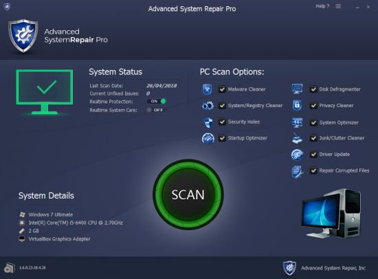 Advanced System Repair Pro Crack With Activation Key Download