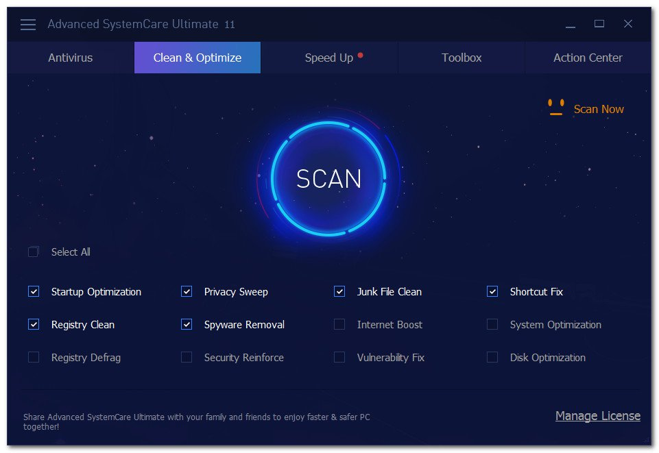 Advanced SystemCare Ultimate Crack With Activation Key Download