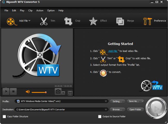 Bigasoft WTV Converter Crack With Activation Key Download