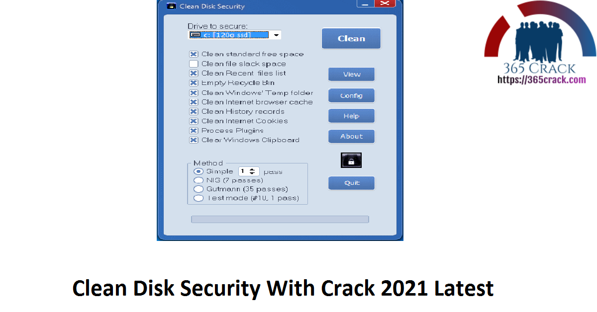 Clean Disk Security 8.10 With Crack {2021}