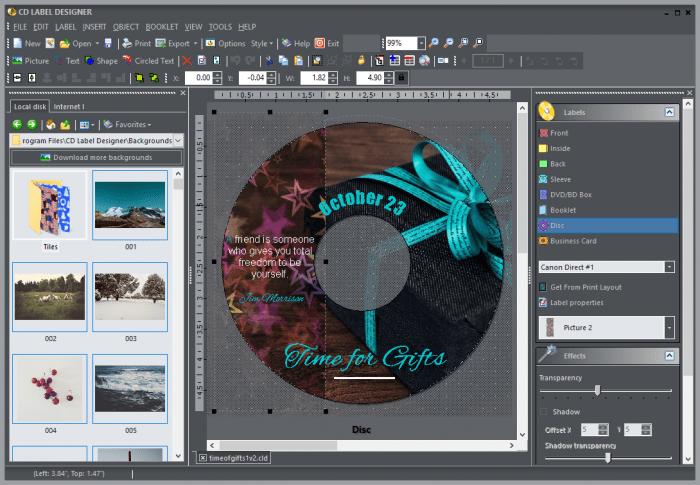 Dataland CD Label Designer Crack With Activation Keys Download