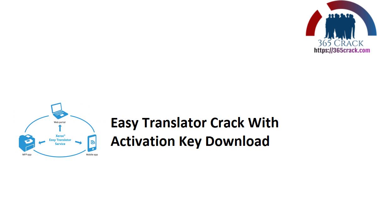 Easy Translator Crack With Activation Key Download