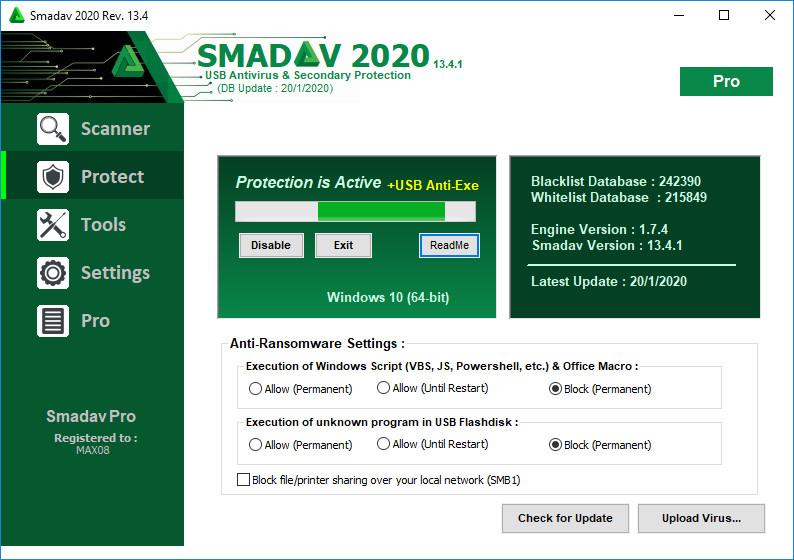 Smadav Pro Crack With Registration Key Download