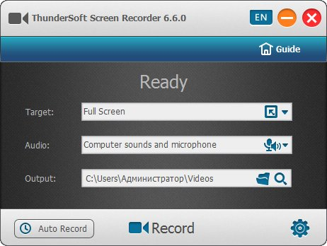 ThunderSoft Screen Recorder Pro Crack With Serial Key Download