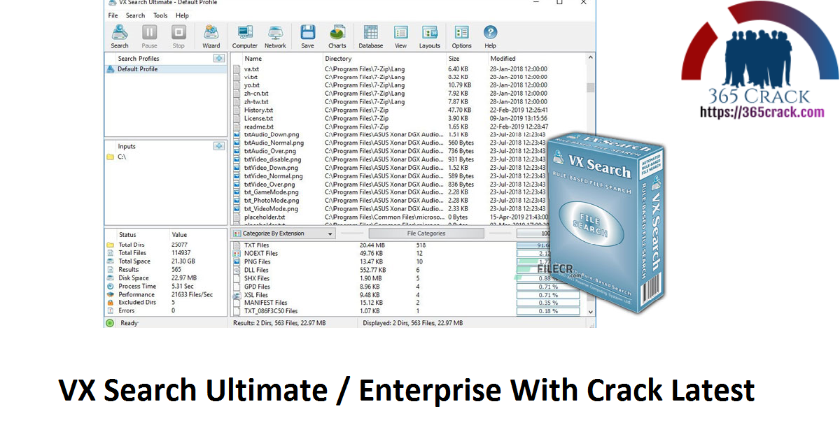 VX Search Ultimate / Enterprise With Crack Latest