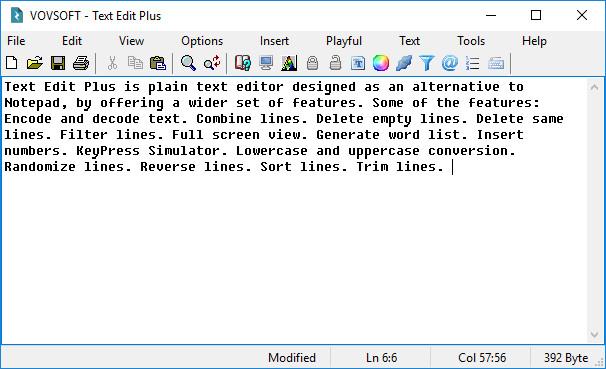 VovSoft Text Edit Plus Crack With Activation Key Download