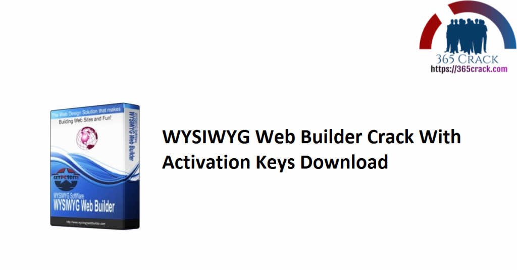 WYSIWYG Web Builder Crack With Activation Keys Download