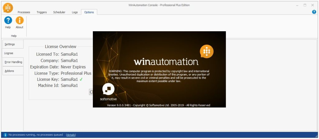 WinAutomation Professional Plus Crack With Activation key Download
