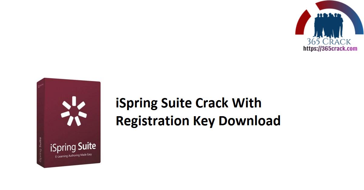 iSpring Suite 10.1.1 Crack With Registration Key