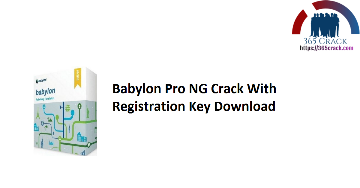 Babylon Pro NG Crack With Registration Key Download