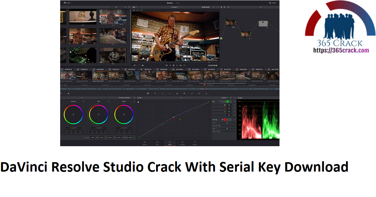 DaVinci Resolve Studio Crack With Serial Key Download